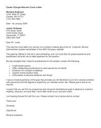 Cover Letter Template Career Change Gdyinglun Com