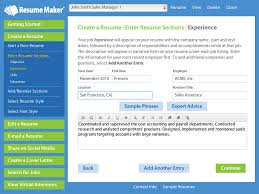 Resume Programs Free Write A Better Resume Resume Maker Individual Software 22