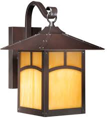 vaxcel tl owd090eb taliesin craftsman espresso bronze finish 13 75 nbsp tall exterior lighting wall sconce loading zoom