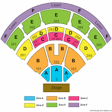 Nissan Seating Chart Jiffy Lube Live Formerly Nissan Pavilion Seating Chart