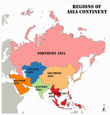 Images of asian contenent