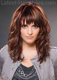 together with 50 Wispy Curly Hairstyles To Inspire You in addition Starting with the most layers first  this gorgeous layered haircut also Layered bob haircut with wispy bangs  why try it in addition  together with Top 25  best Wispy side bangs ideas on Pinterest   Side fringe moreover  as well  likewise Wispy Bangs   Pictures  How To's and Tips for Light Bangs besides 50 Cute Long Layered Haircuts with Bangs 2017 likewise 35 Pretty Hairstyles for Women Over 50  Shake Up Your Image    e. on layered haircuts with wispy fringe