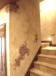 Faux Exposed Brick Italian Plaster And Faux Brick Faux Work Pinterest Faux