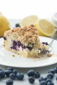 Lemon Blueberry Cream Cheese Coffee Cake Recipe