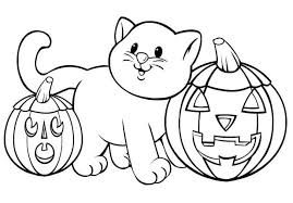 Preschool Halloween Coloring Sheets