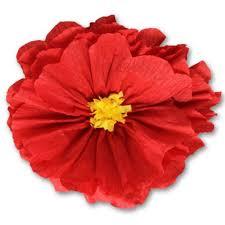 Red Paper Flower Rachels Red Flower