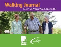 walking journal keep moving walking journal massachusetts health promotion