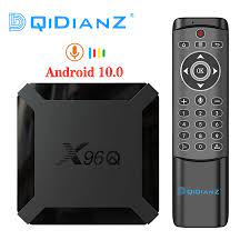 X96Q Android 10,0 Smart TV Box Allwinner H313 Quad Core 4K Youtube Set Top Box  x96 mini Media Player support Voice Control x96q|Digitalempfänger