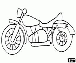 Kleurplaten Motorfietsen Kleurplaat 2