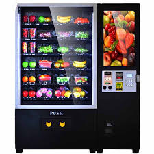Fruit Vending Machines Gorgeous Touch Screen Automatic Fruit Vending Machine Albuenaalfonso