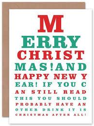 Chart On Happy New Year Funny Eye Chart Funny Xmas Cards Xmas Cards Funny Xmas