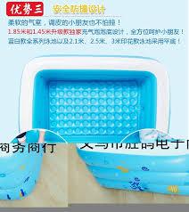 whole large children family outdoor colorful bubble bottom splashing bathtub inflatable swimming pool 196x143x60cm pool pool pool swimming pools