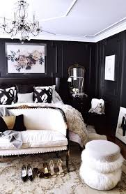 white room black furniture. Black And White Bedroom Modern Glam Walls Room Furniture N