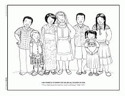 Small Picture Kids Around The World Coloring Pages Coloring Home