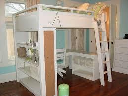 Creative Storage Loft Bed With Desk Creative Storage Floating Desk Open Storage