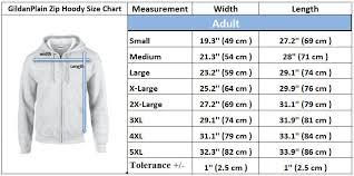 Gildan Sweatshirt Size Chart Details About Gildan Plain New Mens Kids Zip Up Hoody Fleece Heavy Blend Zipper Hooded Jacket