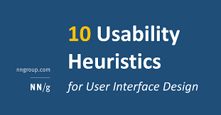 Usability Interaction Design 10 Heuristics For User Interface Design Article By Jakob