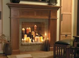there are fireplace ideas even if you can't light a fire