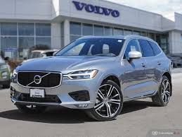 Volvo Xc60 R Design 2019 Osmium Grey New 2019 Volvo Xc60 R Design With Navigation Awd
