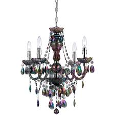 af lighting naples 4 light white mini chandelier 8680 4h the home depot