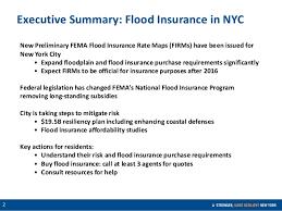 Fema Flood Insurance Quote Executive Summary Flood Insurance in NYC 71