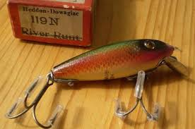 Heddon Lucky 13 Color Chart Lure Hub Oz