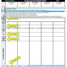 Printable Lesson Plan Template Weekly Sample Editable Blank ...