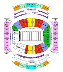Alabama Seating Chart Bryant Denny 57 Memorable Bama Stadium Seating Chart