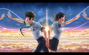 Looking for the best couple backgrounds? Anime Couple Your Name Wallpaper Page 1 Line 17qq Com