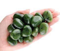 Green Jade Tumbled Stone Healing Crystals Jade Canada   Etsy