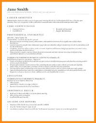 11 12 Resume For On Campus Jobs Lasweetvida Com