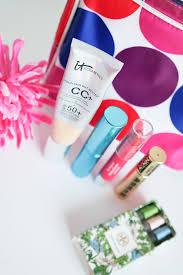 clean make up bag