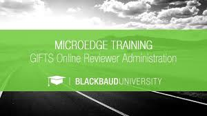 gifts reviewer portal administration microedge