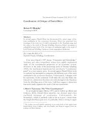 Coordination: A Critique of Daniel Klein