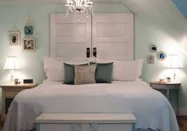 white wood door diy antique headboards with white bedding color and twin white small l stained also soft blue wall color home accessories antique