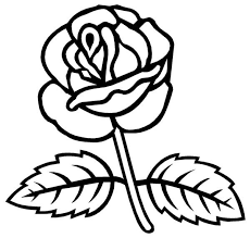 Small Picture Rose Coloring Page Syougitcom