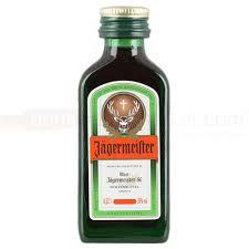jagermeister liqueur 2cl miniature
