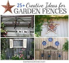 fence garden ideas. 25 creative ideas for garden fences fence