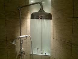 Possibly the best hotel shower in the world. Ever.