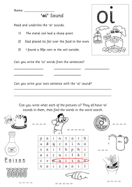 Download free, printable phonics worksheets and activities on a variety of topics such as the lanternfish phonics resource section has greatly expanded. Oi Sound Activity Sheet Teaching Resources