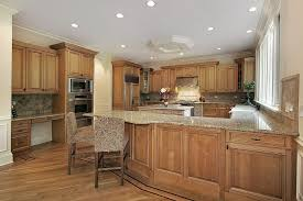 attractive light wood kitchen cabinets throughout 43 new and spacious custom designs