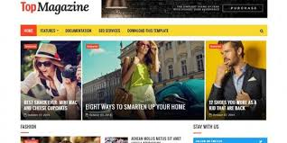 e magazine templates free download 18 best free magazine html website templates 2019