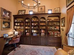 cozy contemporary home office. officecontemporary home office with library decor and brown wood wall book shelves also cozy contemporary