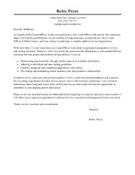 job letter best loan officer cover letter examples livecareer