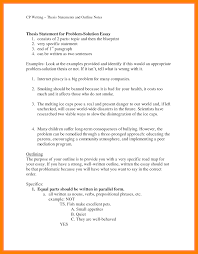3 Examples Of Statements Resume Sections A Research Paper Example