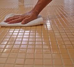 grout sealing wipe