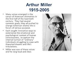 death of a sman by arthur miller arthur miller many voices  2 arthur