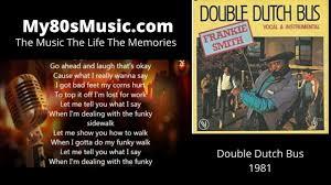 1981 Frankie Smith Double Dutch Bus   80s Music