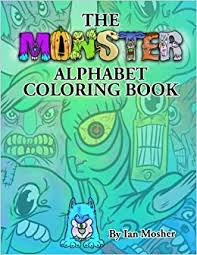Alphabet, nature, flowers, food, emojis, and symbols coloring book (9798627857251): The Monster Alphabet Coloring Book A Children S Coloring Book Mosher Ian C 9781530419357 Amazon Com Books