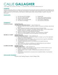 Best Assistant Educator Resume Example Livecareer
